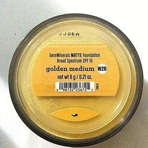 bareMinerals NEW Matte Foundation GOLDEN MEDIUM